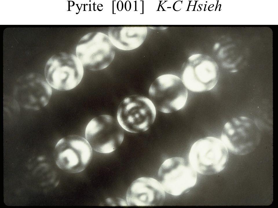 Pyrite [001] K-C Hsieh